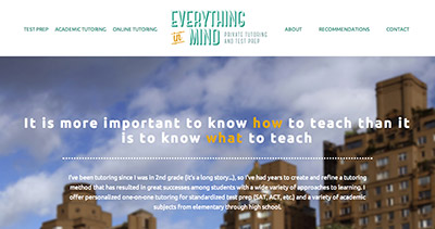 Everything In Mind Tutoring