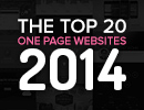 The Top 20 One Page Websites from 2014