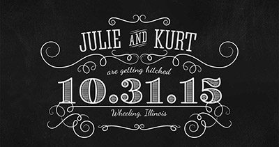 Julie and Kurt