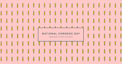 National Corndog Day GIF Party