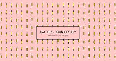 National Corndog Day GIF Party