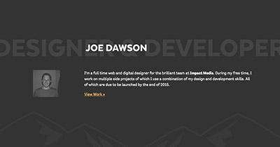 Joe Dawson