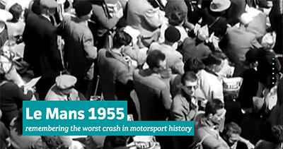 Remember Le Mans 1955