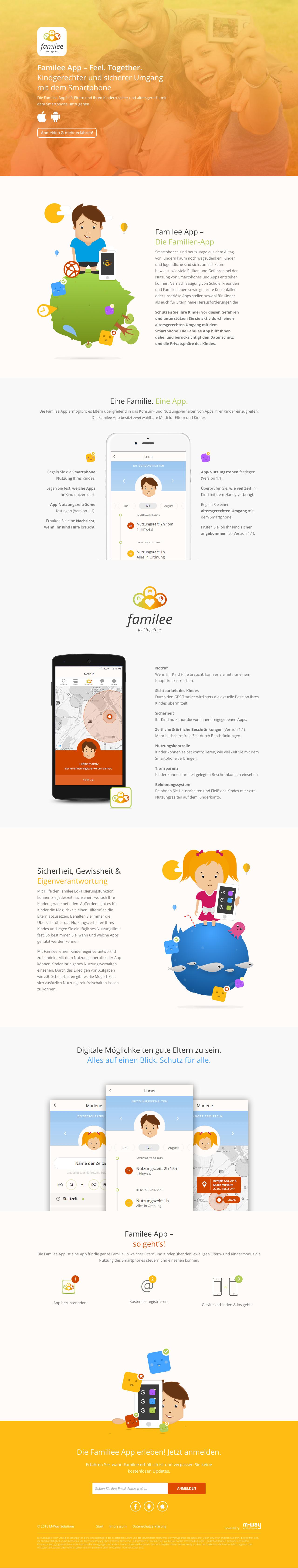familee App Big Screenshot