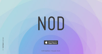 Nod - anonymous proximity messenger