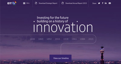 BT Annual Report Review 2015