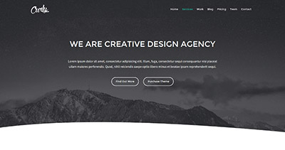 Curly - Responsive Multi-Purpose HTML Template
