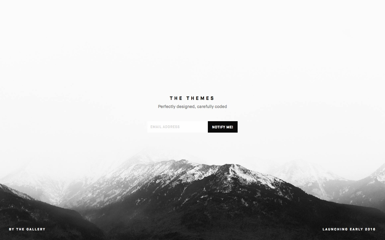 The Themes Big Screenshot