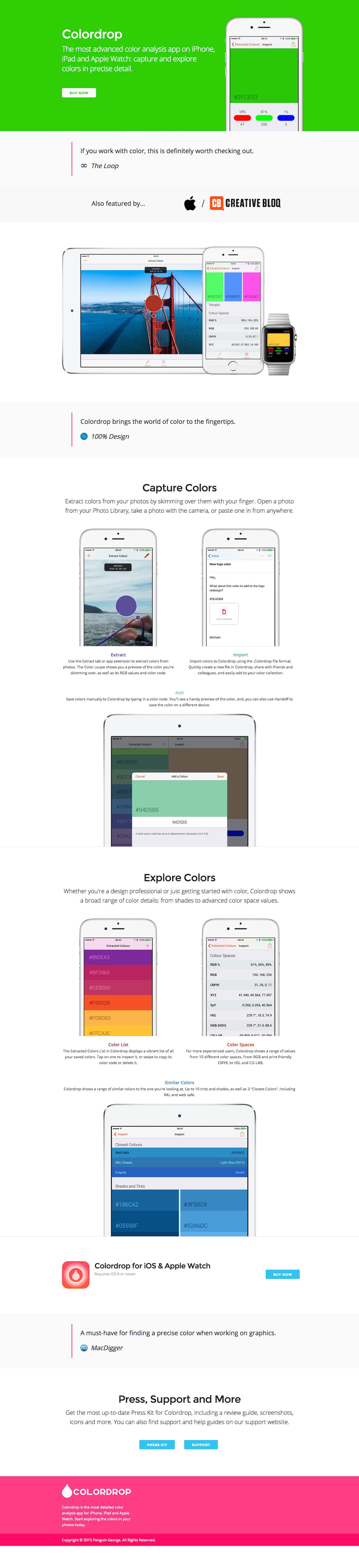 Colordrop Big Screenshot