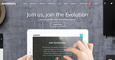 Anderson WordPress Theme