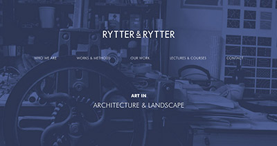 Rytter & Rytter — Art in Architecture & Landscape