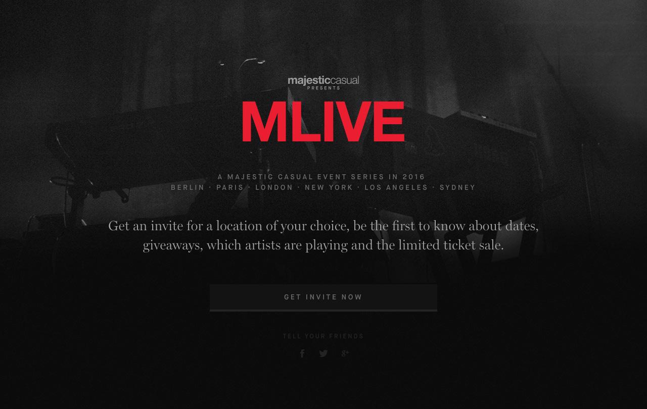 Mlive Big Screenshot