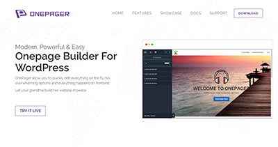OnePage Builder