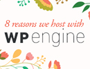 One Page Website Hosts with WP Engine