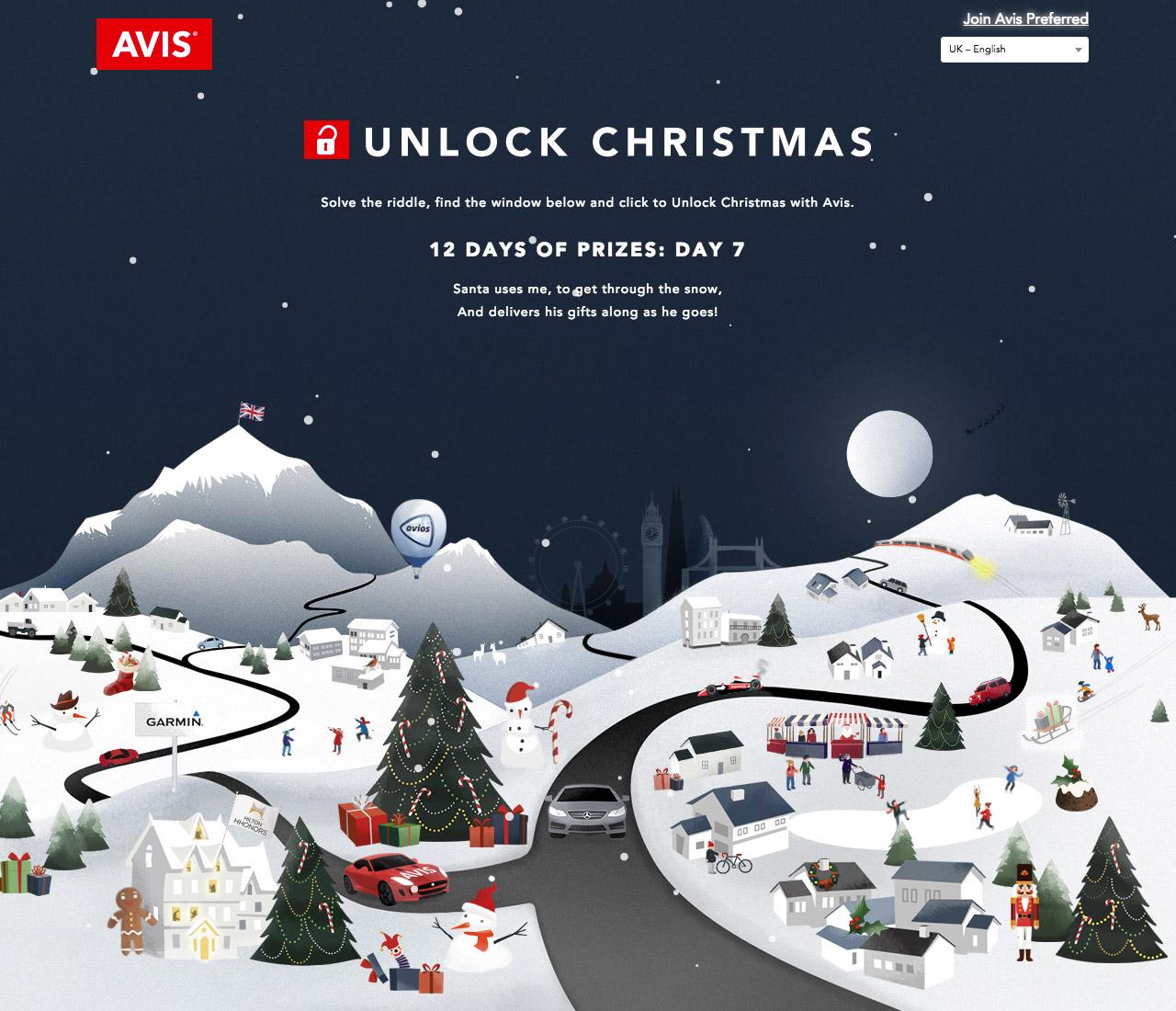 Unlock Christmas With Avis Big Screenshot