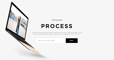 Process: Design Masterclass