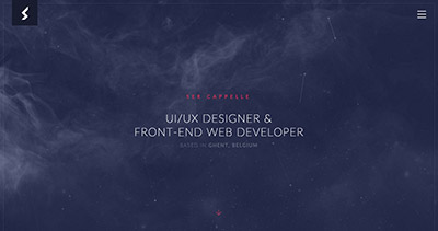 Ser Cappelle - UI/UX Designer & Front-end Web Developer