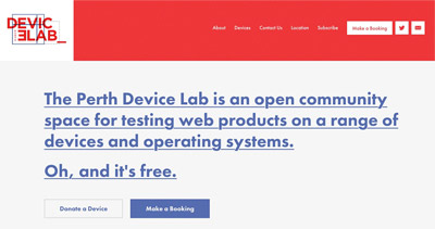 Device Lab Perth