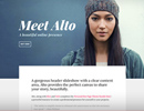 Alto WordPress Theme by Currl