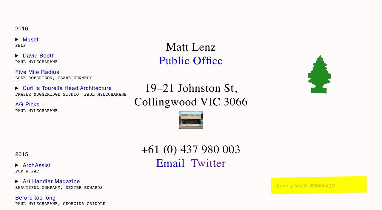 Matt Lenz Big Screenshot