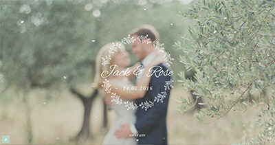 Jack & Rose - Wedding Website WordPress Theme