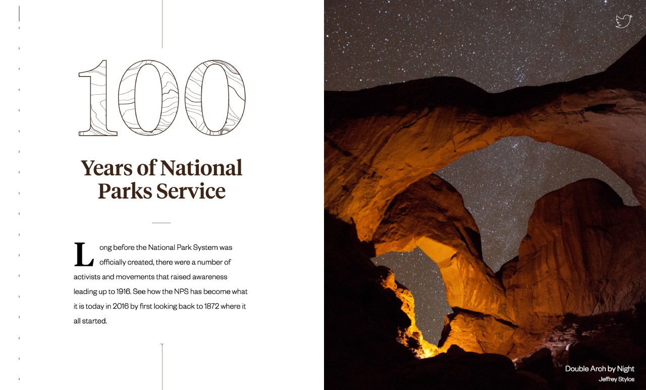100 Years of National Parks Big Screenshot