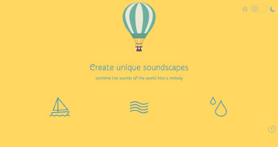 Defonic, a soundscape generator