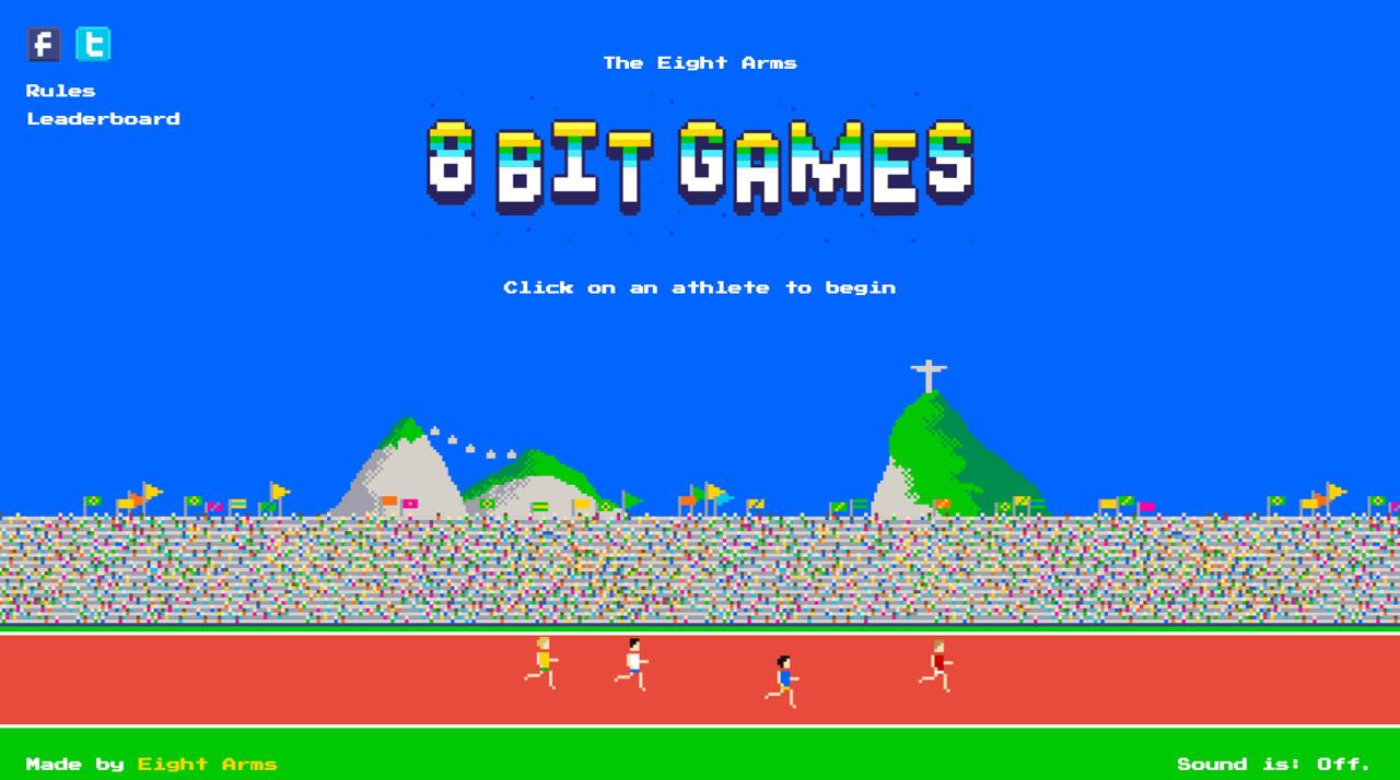The Eight Arms 8-bit Games Big Screenshot
