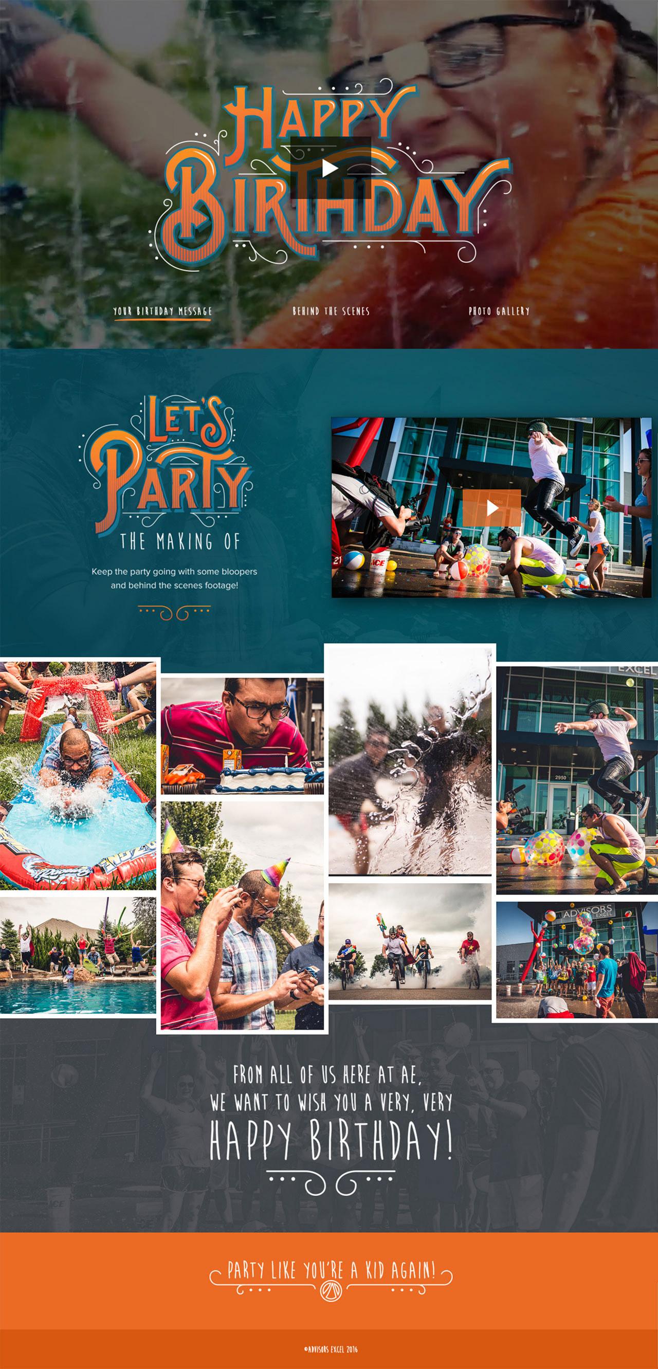 AE Birthday – Let's Party! Big Screenshot