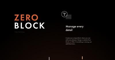 Tilda Zero Block