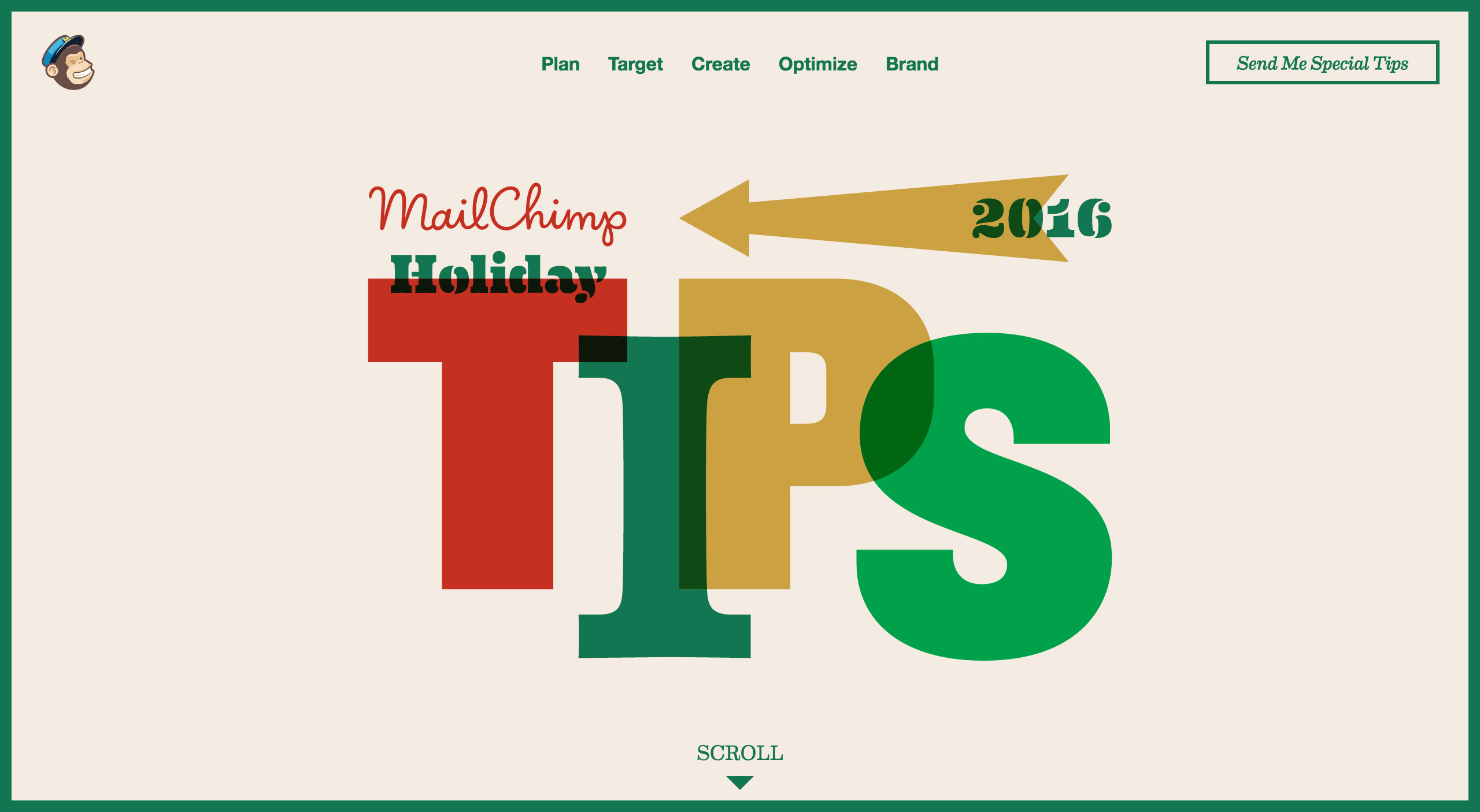MailChimp Holiday Tips 2016 Big Screenshot