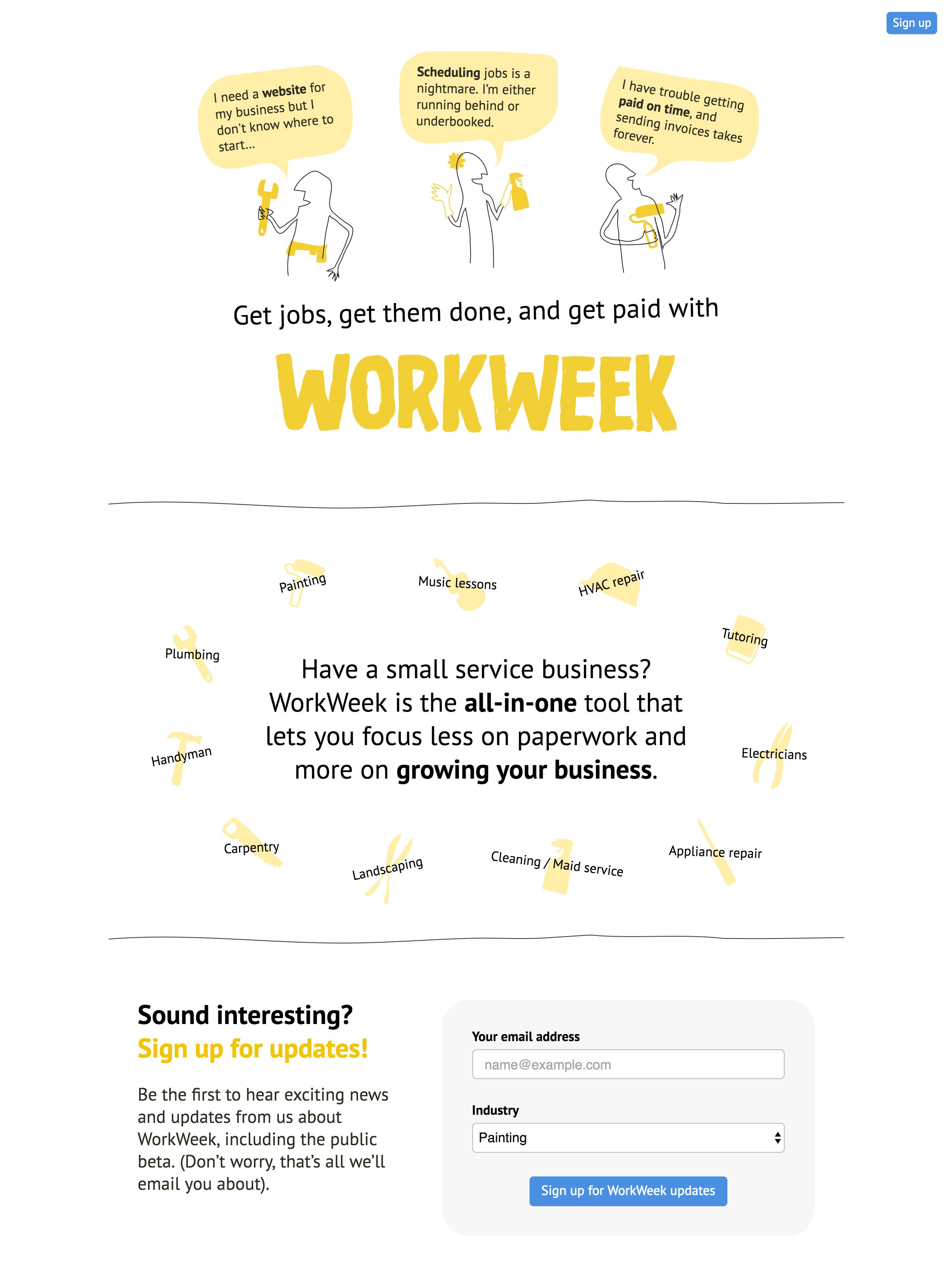 WorkWeek Big Screenshot
