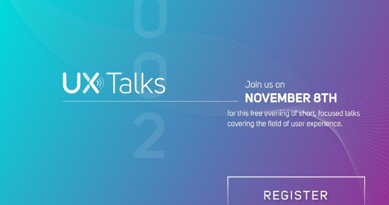 UX Talks 002