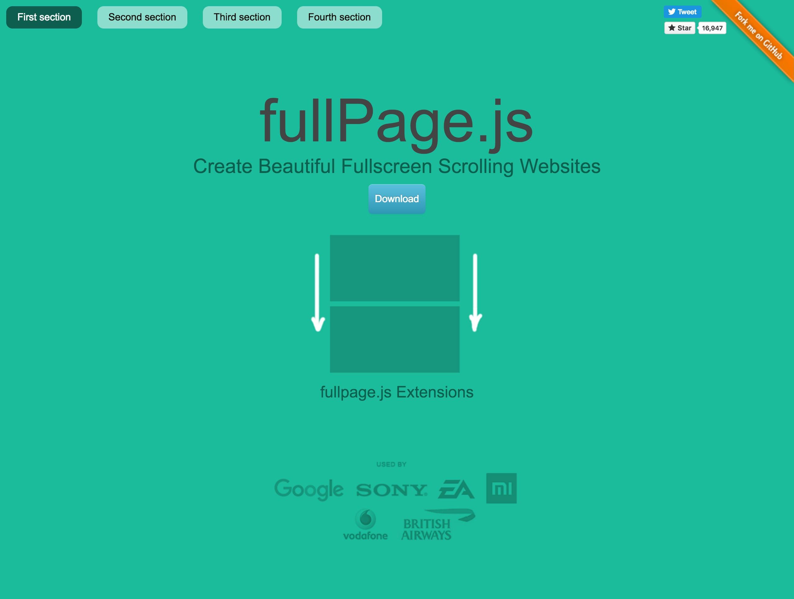 fullPage-js