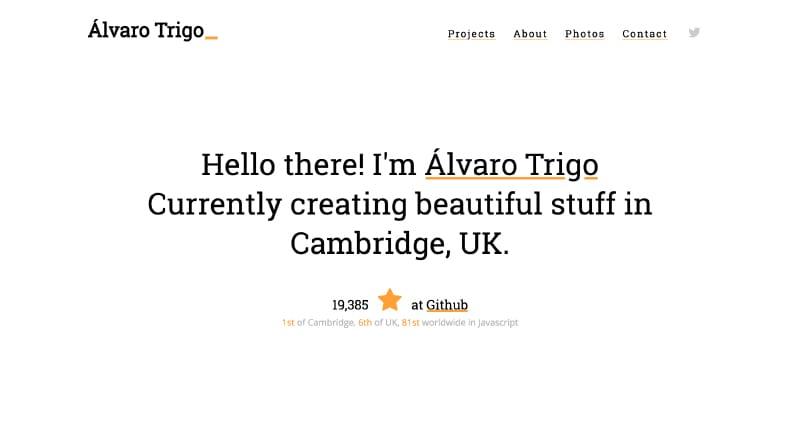 Alvaro Trigo Portfolio