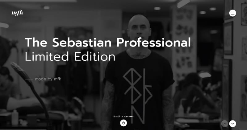 The Sebastian Professional Limited Edition – made by mfk