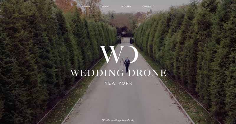 Wedding Drone New York