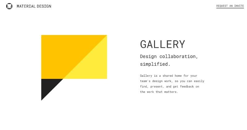Gallery Material Design