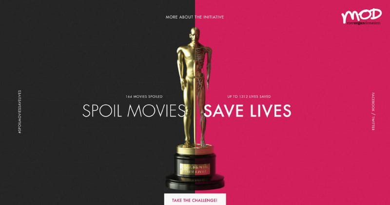 Spoil Movies, Save Lives