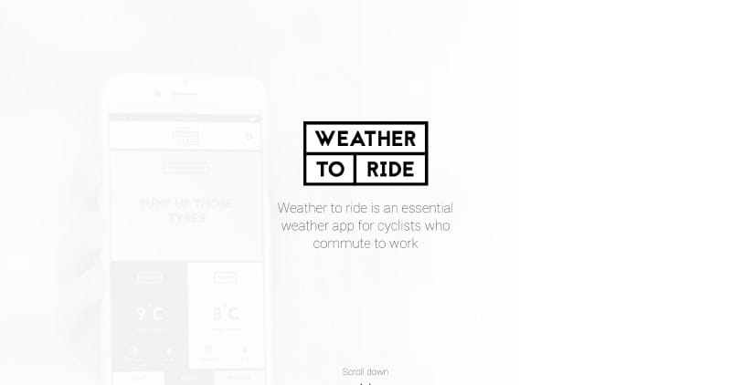 Weather to ride