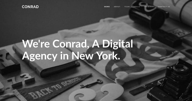 Conrad - Creative Multi-Purpose WordPress Theme