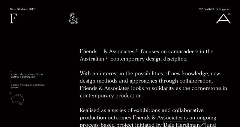 Friends & Associates