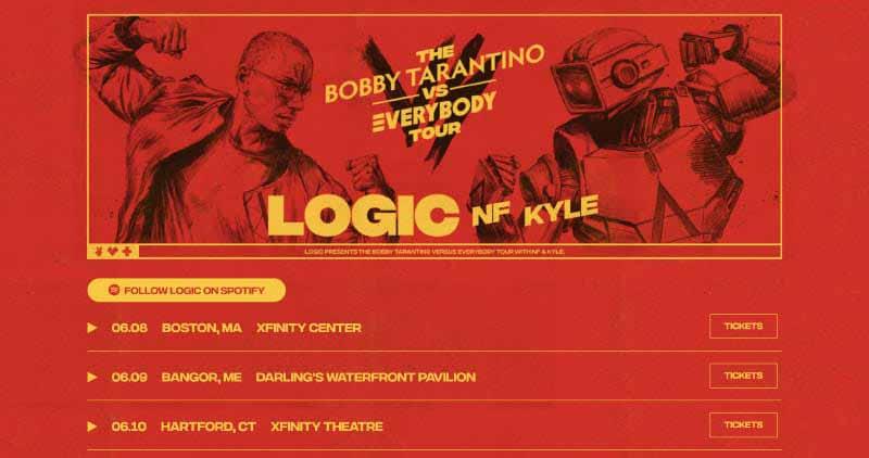 Bobby Tarantino Vs Everybody Tour