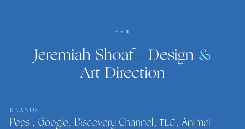 Jeremiah Shoaf