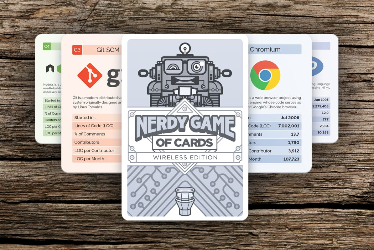 The Nerdy Game of Cards