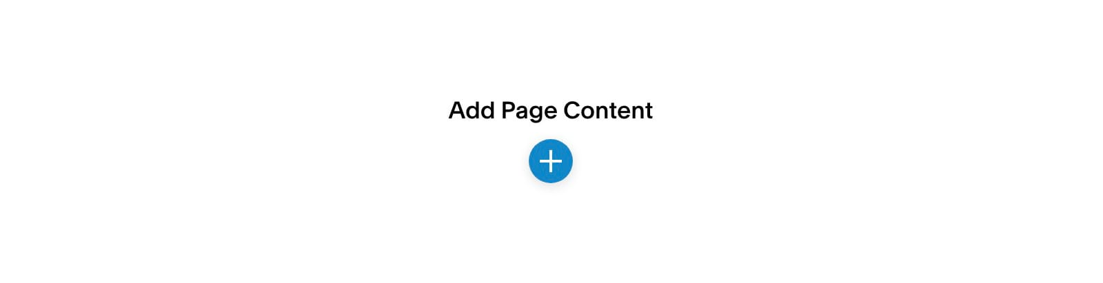 Add Page Content