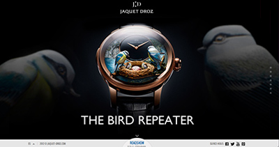 Bird Repeater by Jaquet Droz