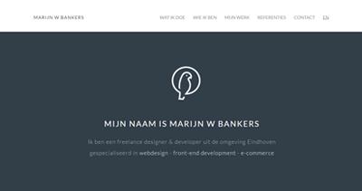Marijn W Bankers