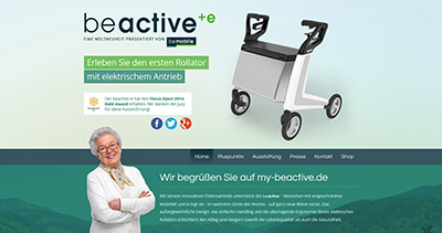 beactive+e - walker with electric drive