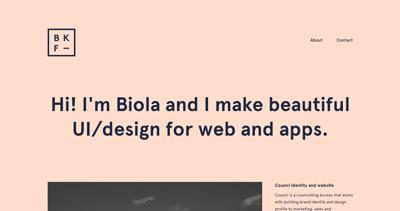 Biola Kadiri Fischer - Digital Designer
